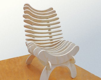 Build you own Fishbone Chair - The art of sitting. As featured in Instructables!!!