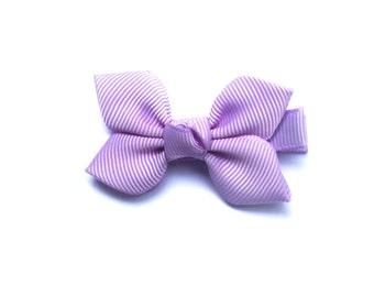 purple hair clip, lilac Hair clips for girls, purple flower, hair bow,  Lavender kids hair clip, baby girl hair clip, hair clips uk