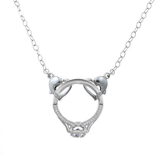 like this item - Wedding Ring Holder Necklace