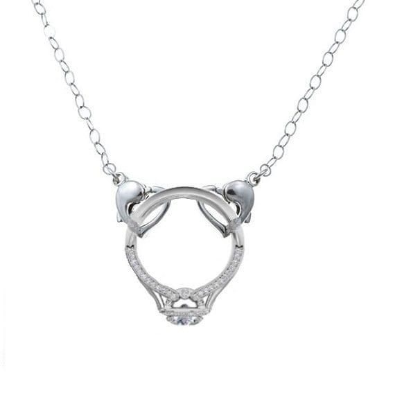 like this item - Wedding Ring Holder Necklace