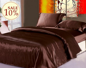 Sales Now 100% charmuse mulberry silk duvet cover comforter cover bed cover Twin Full Queen King Cal king