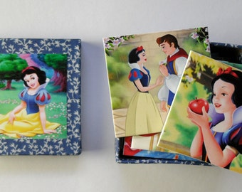 memory game  for children Snow White matching game