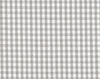 """Sale - Fabric Finders -Gray 1/16"""" Gingham Check  gingham - 60"""" wide - 100% cotton"""