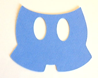 """30 3"""" Blue Mickey Mouse Pants- Scrapbooking, Decorations, Crafting ..."""