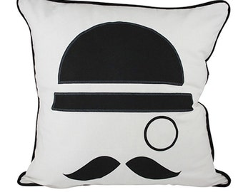 Magritte Cushion Cover. Pillow Cover.