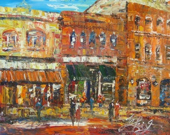 MAIN STREET, Exeter, NH-Pen King -A202
