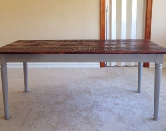 Popular items for stained table top on Etsy