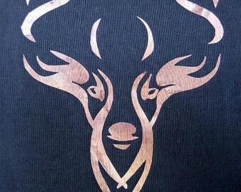 Celtic Deer Quilt Applique Pattern Design
