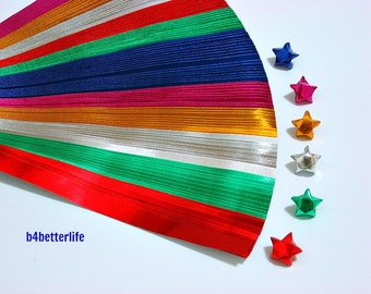 120 strips of Tiny size Foil Origami Paper Folding Kit. 160mm x 8mm. (FS paper series)