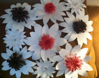 Paper Daisies - Set of 9