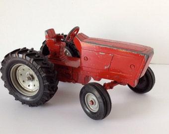 Vintage Ertl Cast Metal Toy Tractor