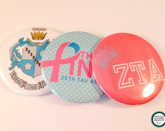 Zeta Tau Alpha Pocket Mirrors and Magnets