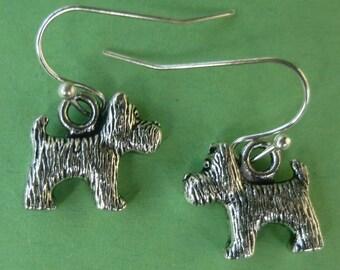 Scottie Dog Earrings  E010