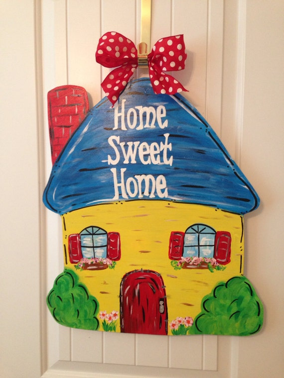 All occasion home sweet home door decor - Home sweet home decorative accessories ...