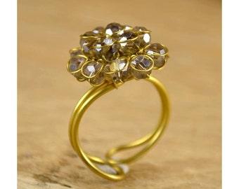 Flower ring-small flower