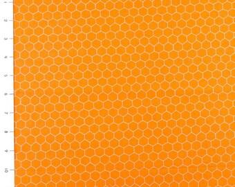 Oink a Doodle Moo Tangerine by Moda