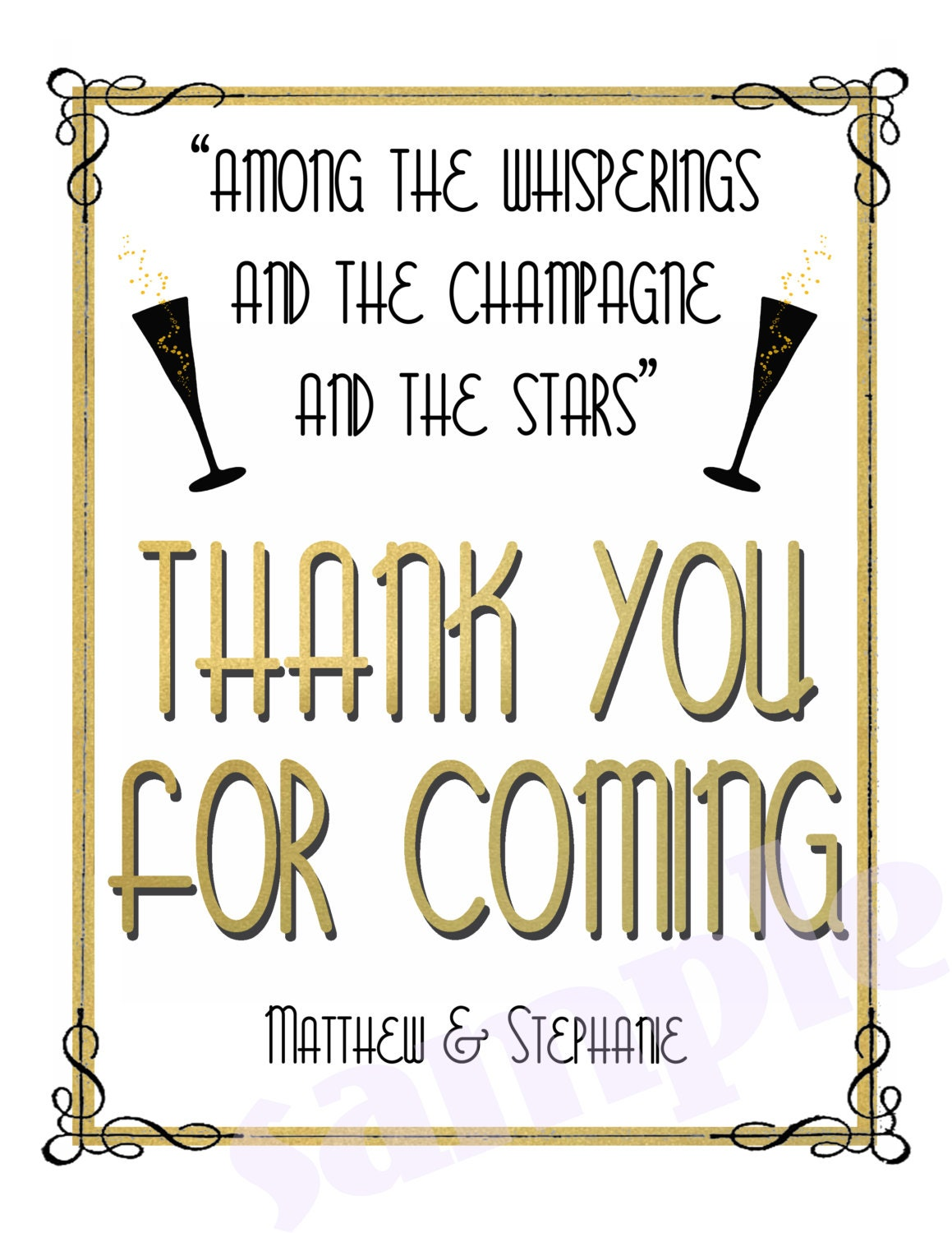 Party Quotes From The Great Gatsby Gatsby Quote Wedding/party