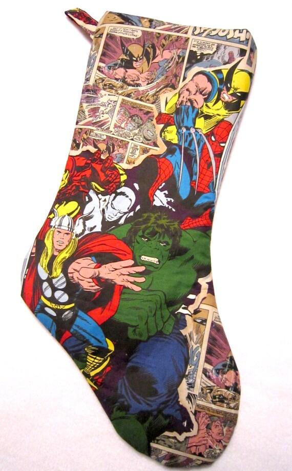 "NWT Marvel Comics Black Panther Mini 8"" Christmas ... |Marvel Stockings"