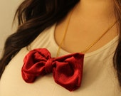 Eleventh Doctor inspired bow tie necklace. - Impossibleclarawho