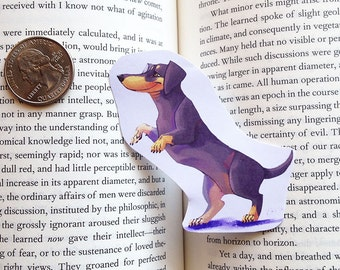 doxie mini doxen sticker or magnet