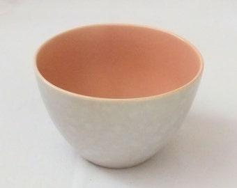 Vintage Poole Pottery Twintone Sugar Bowl