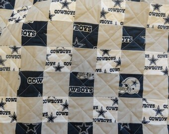 Dallas Cowboys full size quilt