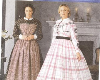 Simplicity 7212 Misses' Civil War Costume Pattern, 6-12