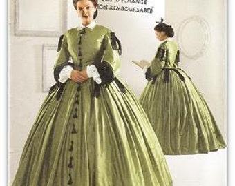 Simplicity 2887 Misses' Civil War Costume Pattern, 8-14