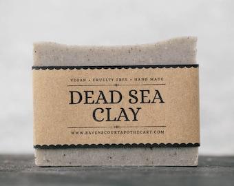 Dead Sea Clay Soap | Unscented Vegan Soap