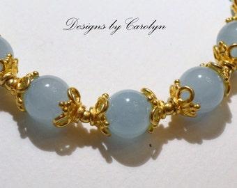 Milky Aquamarine Necklace CSS109N