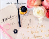 DIY Calligraphy Kit - The Lettered Bride