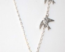 Dauntless inspired tribute Silver Necklace
