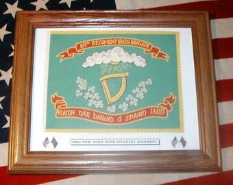 American Civil War Flag, 69th New York, Irish Brigade
