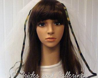 Camo Bachelorette Veil - Style 1
