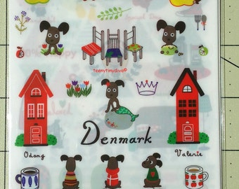 Odong et Valerie North Europe Planner Stickers