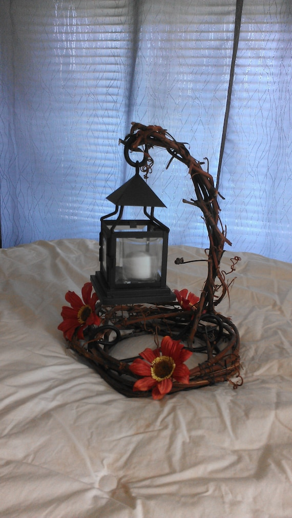 Items similar to fall lantern centerpiece on etsy
