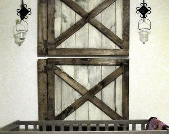 Barn Door Wall Decor