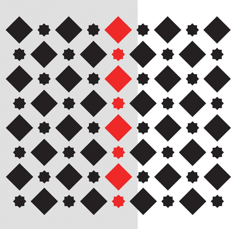 Wall Morrocan Pattern Stencil Large Fez Stencil For A