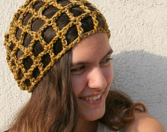 Crochet Hat, Slouchy Cotton Hat, Womens Hat, Slouchy Beanie, Crochet Beanie, Summer Fashion, Beach Fashion, Cotton Beanie, Gift for Her