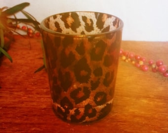 Leopard Candle Holder (((free shipping)))