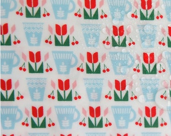 Laminated Cotton Fabric Tulip By The Yard