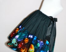 The Magic School Bus Solar System, Ms. Frizzle Skirt for Gals, All Sizes, Plus Sizes