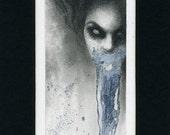 portrait of a Vampire - EyerisIllustration