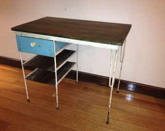 vintage desk, retro desk, office desk, office furniture