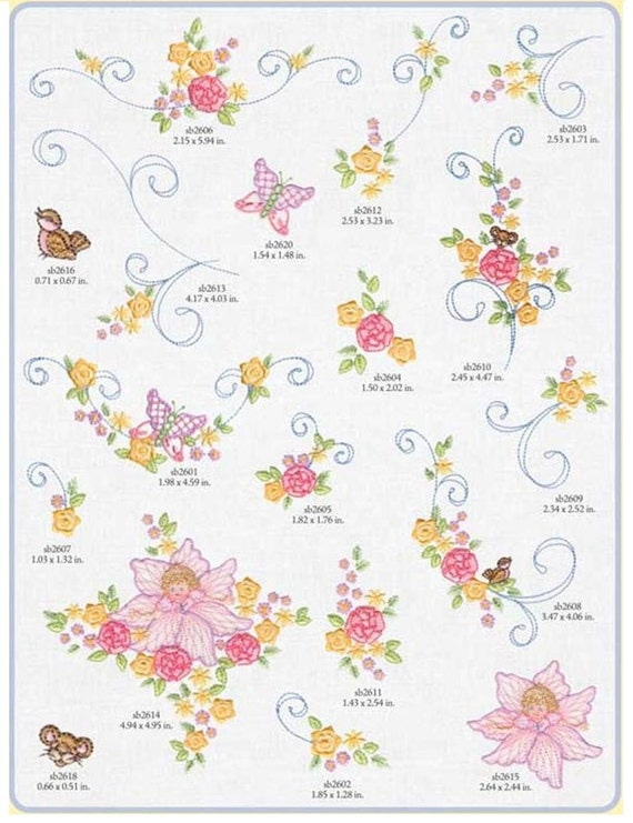 Fairy Tale Finery Embroidery Designs - PES