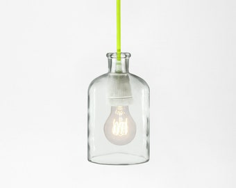 Neon Yellow Pendant Lamp