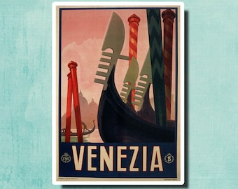 VENICE Italy - Vintage Italian Travel Poster 1928 - ENIT -  SG2371
