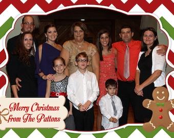 Christmas Photo Card - Digital File (4x6 or 5x7)