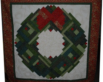 Christmas At The Cabin Quilt