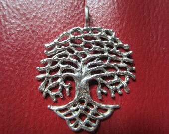 Sterling Silver Tree Pendant ~ Willow